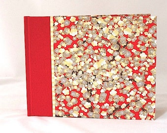 Photo Album Red Cherry Blossom - Wedding Album, Scrapbook