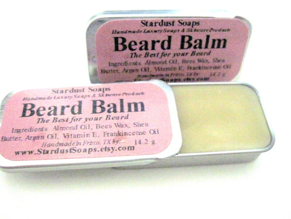 Frankincense Beard Balm Leave in Conditioner -All Natural Beard Balm with Argan Oil (The Best for your Beard) Best Seller - handmade