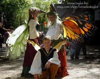 Custom Faerie wings by Renae Taylor  (Extra Large MONACH BUTTERFLY)