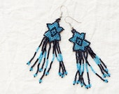 SHOOTING STARS / / Vintage Earrings / / Upcycled Fashion
