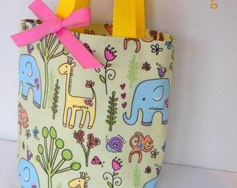 Animals Purse/Gift Bag/Tote/Easter Basket