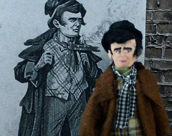 Charles Dickens The Artful Dodger Oliver Twist Doll Miniature Art