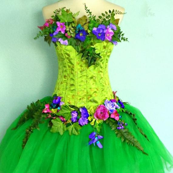 Earth Fairy Dress Adult fairy costume - theEarth Fairy Costume