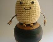 Crochet Chicken amigurumi, toy animal kid, cotton yarn