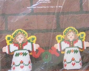 Plastic Canvas Kit Joy Angels by Needle Magic