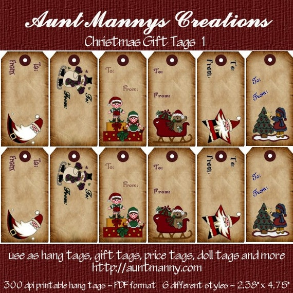 Zany image intended for printable hang tag