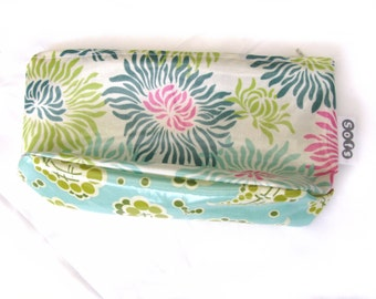 sofs offers a laminated pouch. This one in happy land.