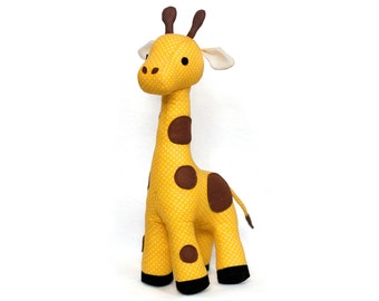 Sewing pattern Giraffe PDF