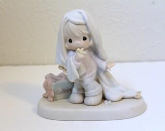 Vintage 'JUNE' Precious Moments Figurine