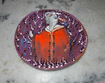 Kitsune maiden plate