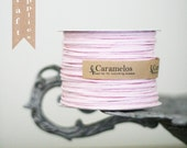 5 yds of Pink Wired Paper Twine