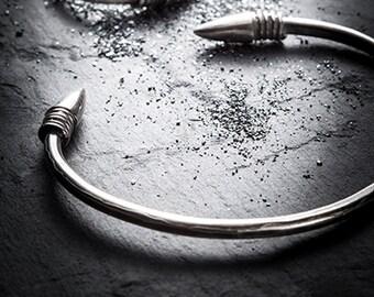 TRYST silver cuff