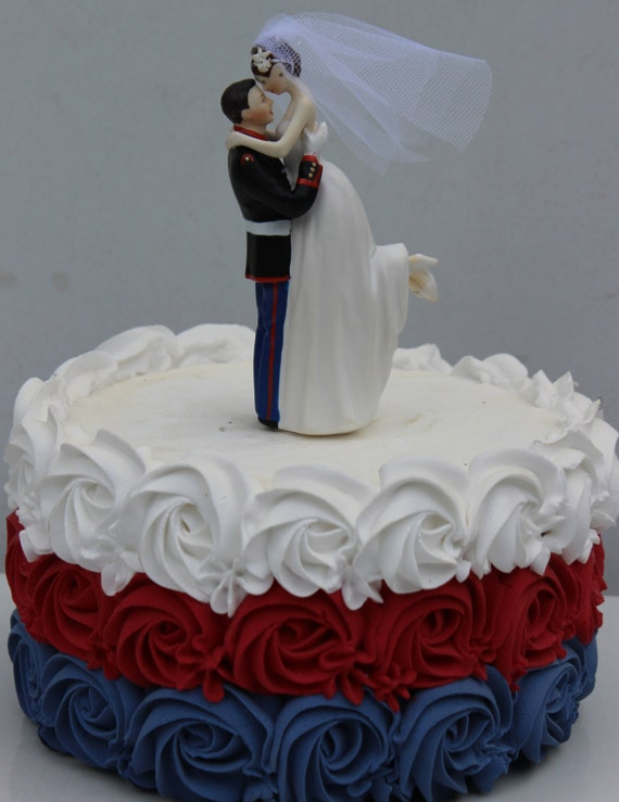 marine cake toppers for wedding cakes usmc marine corps wedding cake topper 5711