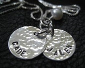 Custom Order Hand Stamped Necklace for Kayleen