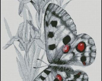 BUTTERFLY cross stitch pattern No.638