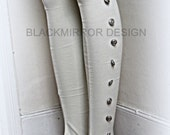 Extra long steampunk victorian spats