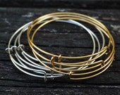 Adjustable Expandable Bangle Bracelet, 1pc