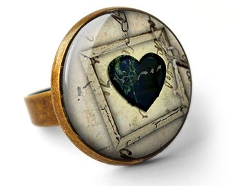 Black Heart No.1 Ring (RR04)