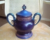 MAKE OFFER-Antique -Treasure Keeper -Cookie  Jar- piggy bank - Geo. Eakins - Philadelphia -Potpourri  Dresser Top - Bathroom - Gift Idea