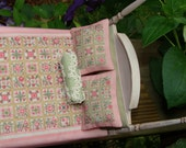 Last payment for Connie Hand embroidered quilt miniature