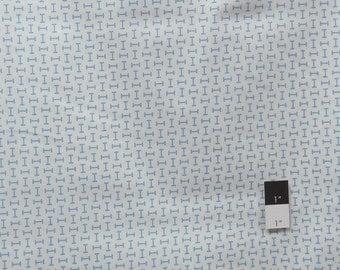 Annette Tatum PWAT078 Tailored Key Royal Cotton Fabric 1 Yard
