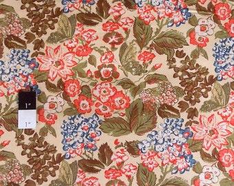 Melissa White PWMW020 Amelie's Attic Sweet Breeze Tea Stained Cotton Fabric 1 Yard