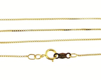 30 inch 14K Gold Filled Box Chain (AO080)