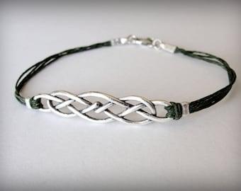 Celtic Knot bracelet Outlander Scottish bracelet Irish bracelet