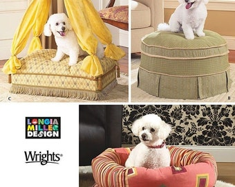 Simplicity 4187 Pet Beds Sewing Pattern by Longia Miller Design