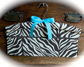Zebra Travel Hanger Closet Safe for Travel or Home