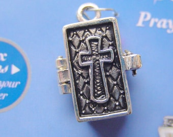 Secret Wish Keeper Bible With Cross Prayer Boxes Pendant 2026