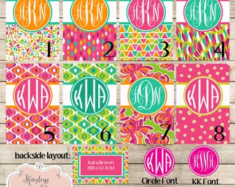 Personalized Bag Tag Monogram Luggage Tag Personalized Luggage Tag with Name or Monogram Custom Bag Tag
