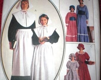 McCalls 8335 Sew Pattern Pilgrim, Prairie Dress, Colonial Dress Size 20/22