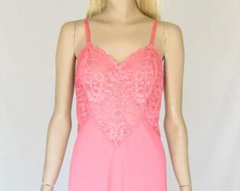 Vintage 60s Vanity Fair Pink Slip