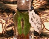 "Oak Apple Harvest . ""Alchemist Tree"" Ritual Oil . Lammas & Mabon Rites, Autumn Equinox, Harvest Celebrations, Blessings of Bounty"