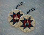 Raggedy Ann and Raggedy Andy Ornaments (EDornA)