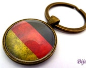 Germany keychain - Country Germany keychain - World country Germany keychain k174