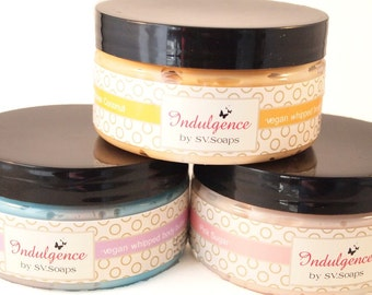 Whipped Vegan Body Butter 8oz by SV.Soaps