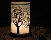Table top Night Light Electric Shoji Lantern Small Tree - Home decor Lighting