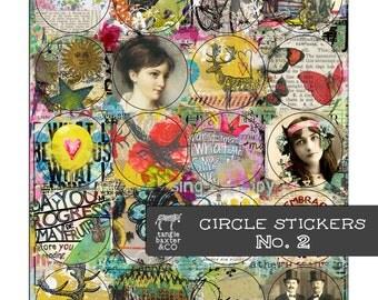 Circle Stickers No. 2