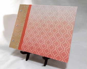 Custom Polaroid Ombre Guest Book - Custom Hand-Dyed Ombre Cover - Pick Your Colors and Style