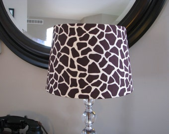 Lamp shade Giraffe