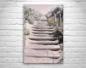 Beach Art, Steps to the Beach, Baker Beach Photograph, San Francisco, California Beach, Fine Art Photography