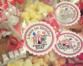 Wedding Favors -  He Popped the Question - 10 POPCORN Soap favors - wedding favors - baby shower - birthday party