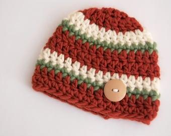 Newborn Wool Fall Beanie... Chunky wool.. Photography Prop... Ready to Ship