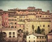 Dusk in Siena, 11x8 inches original fine art photograph
