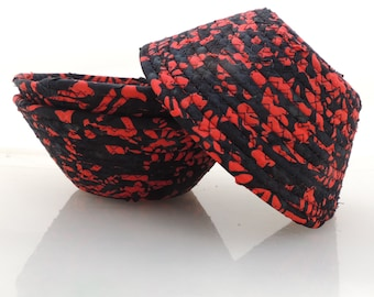 Small Black and Red Bowl