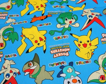 pokemon fabric pikachu  (lb1A)