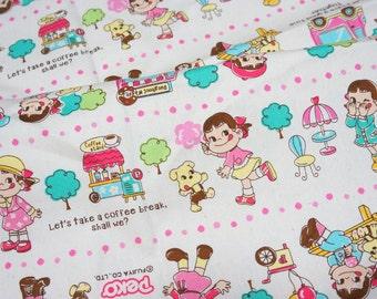 Peko Chan print Japanese Fabric