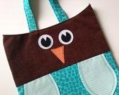 Owl Tote Bag - Blossom the Owl